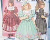 Daisy Kingdom Simplicity 8314 Girl's Sewing Pattern, SALE Full Skirt Dress, Special Occasion Party, Flower Girl Dress Pattern Size 12 - 14