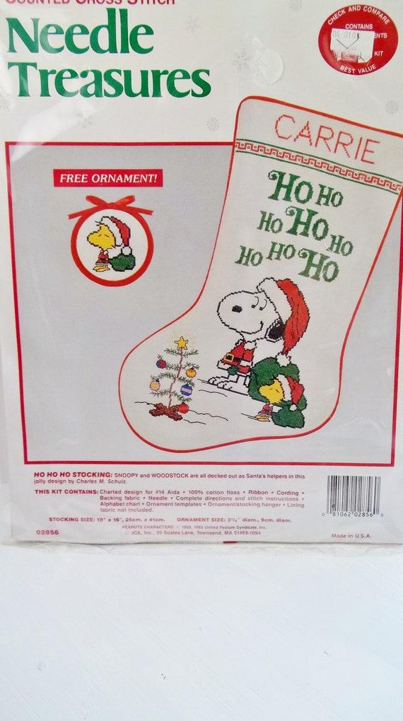 image 0 - Snoopy Christmas Stocking