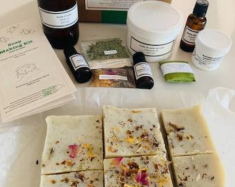 DIY soap making kit - cold process - craft kit