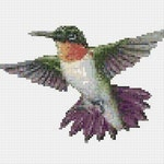 Cross Stitch Pattern, Cross Stitch Patterns, Cross Stitch, Counted Cross Stitch, Cross Stitch Chart, Xstitchpatterns, Cross Stitch Bird