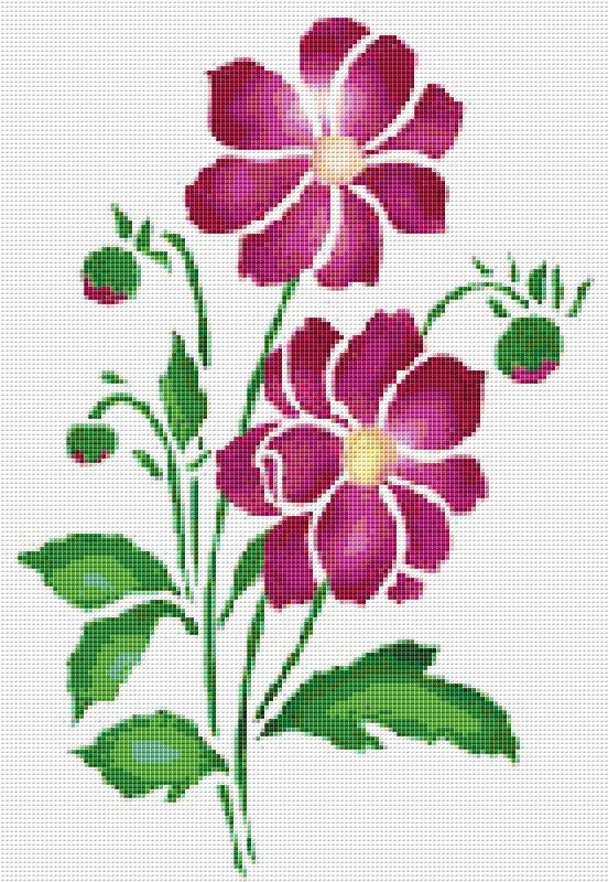 Cross Stitch Pattern Cross Stitch Patterns Cross Stitch Etsy Unique Cross Stitch Flower Patterns