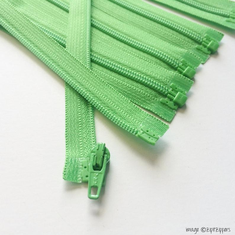 YKK Separating Zippers Med-Lightweight 3mm Coil Zippers image 0