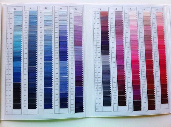 Ykk Color Card Etsy