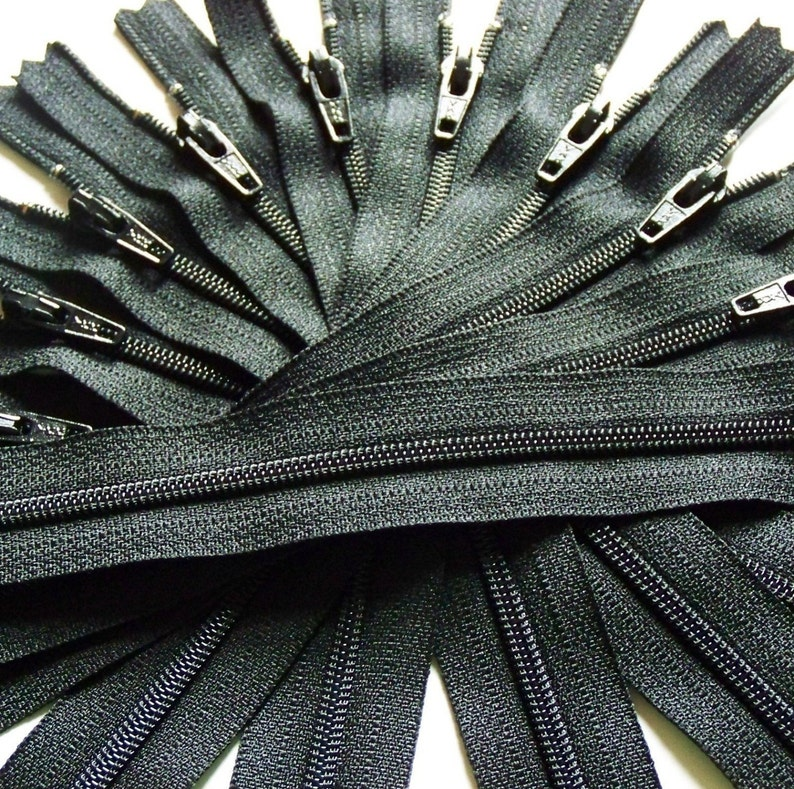 SALE Wholesale 100 YKK Brand Zippers Available in image 0