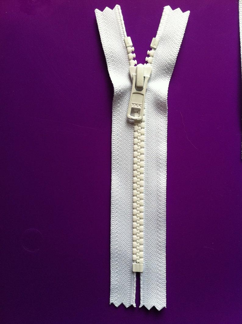 2a46c68d3c56 5 Inch YKK Vislon 5mm Molded Plastic Teeth Sports Zippers 1
