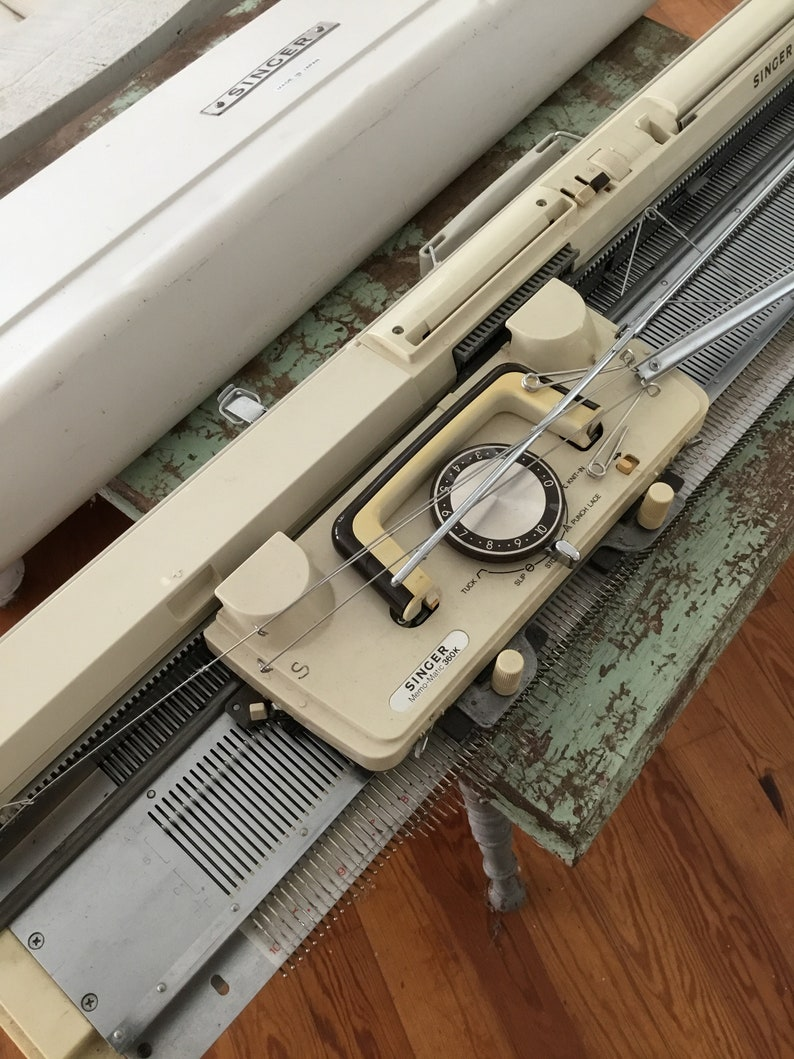 Singer 360 Standard Gauge Knitting Machine Etsy