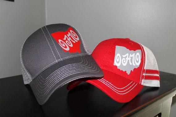 Ohio State Trucker Hats Ohio Baseball Caps State Of Ohio Womens Ohio Hat