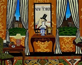 The Writer's Room Fine Art Print Catherine Nolin custom order