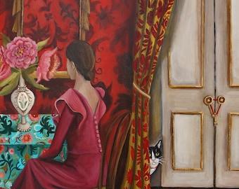 Looking Ahead Fine Art print by Catherine DeQuattro Nolin