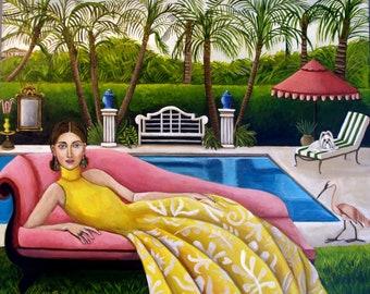 L. A. Woman Fine Art print