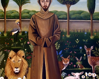 St. Francis Of Assisi Fine art print
