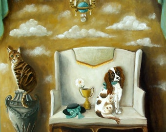 Best In Show  Original Painting by Catherine DeQuattro Nolin