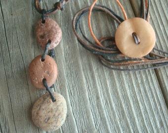 Lake Superior Stone Necklace - FREE SHIPPING!