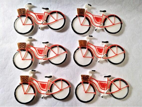 Essbaren Fondant Fahrrad Fahrrad Kuchen Topper Essbare Fahrrad Etsy