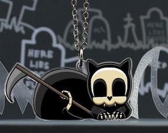 Grim Reapets - A Cat Named Coffin - Grim Pets Necklace