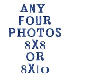 set of four  8x8 or 8x10 fine art photographs - shannonblue photography