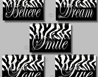 Popular Items For Zebra Room Decor