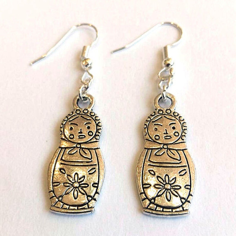 Russian doll earrings image 0