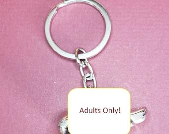 Penis Keychain   Sexy Gift for Girlfriend   Sexy Gift for Boyfriend   ADULTS ONLY   Sexy Keychain   Bawdy Keychain