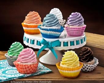 Cupcake Glycerin Soaps