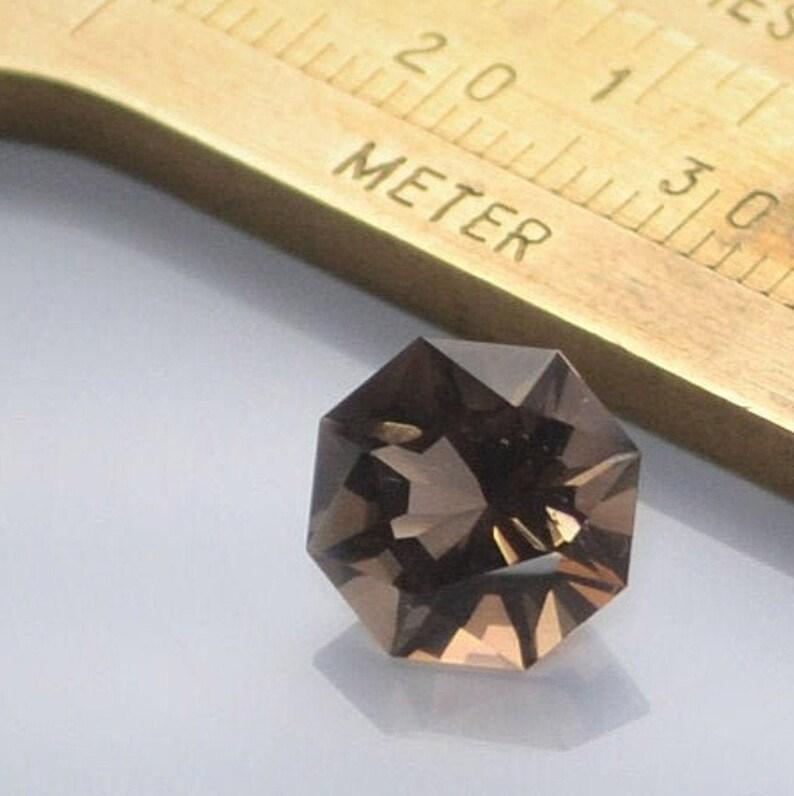 Smoky Quartz Stone  Custom Cut Gemstone  Loose Gemstone  image 0