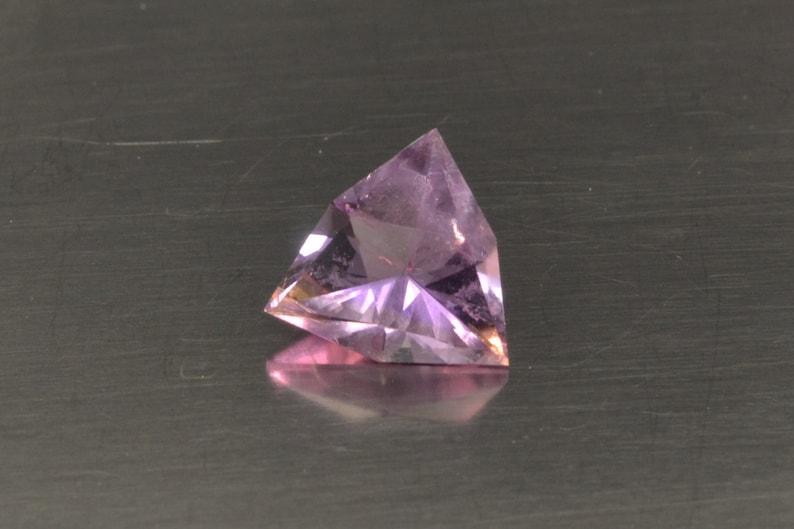 Ametrine Loose Gemstone Trillion Cut Ring Stone Pendant Stone image 0