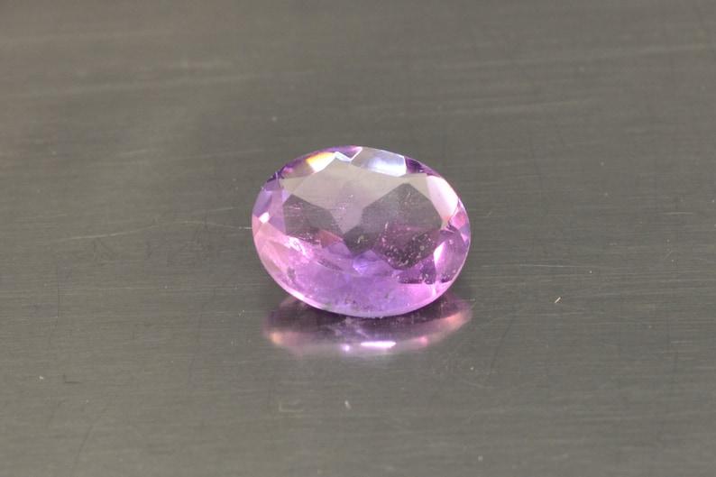 Natural Amethest Purple Loose Amethest Oval Cut Pendant Stone image 0