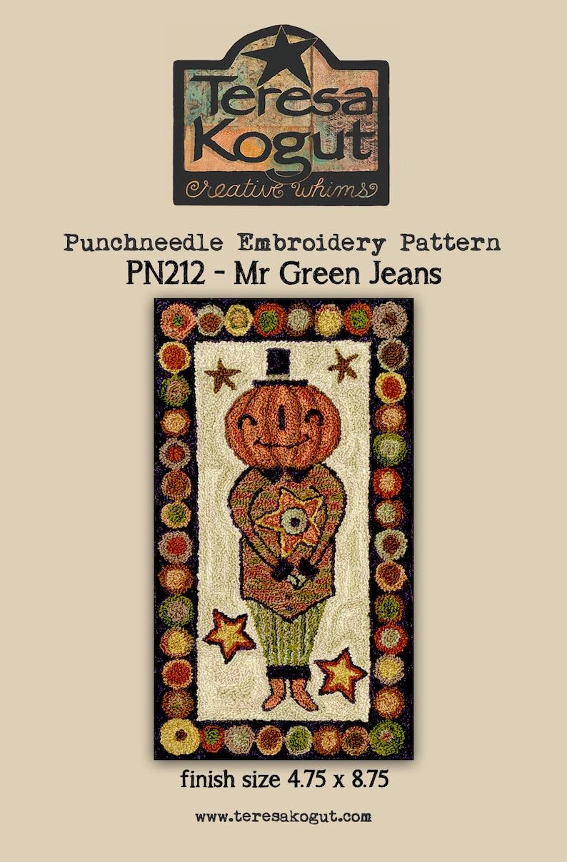 Punchneedle  Teresa Kogut  Pattern  Needlework  DIY  image 1