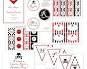 Items Similar To Pirate Party Printable Collection By The