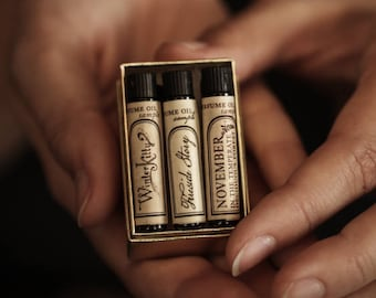 Natural Perfume Oil - Samples - Choose 3 - For Strange Women perfume -