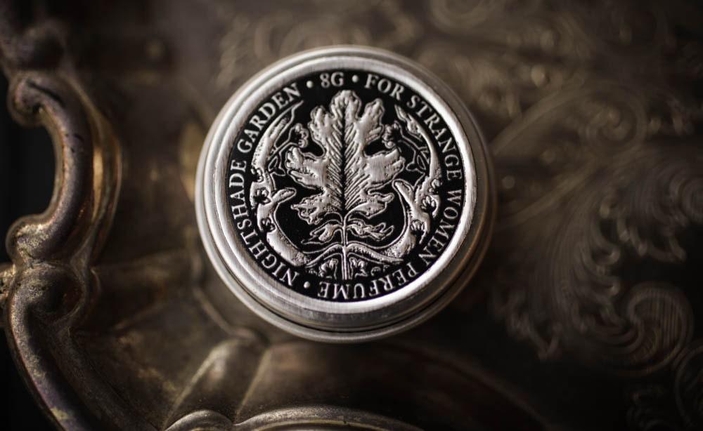Jardin de nightshade™  parfum solide naturel  vigne de