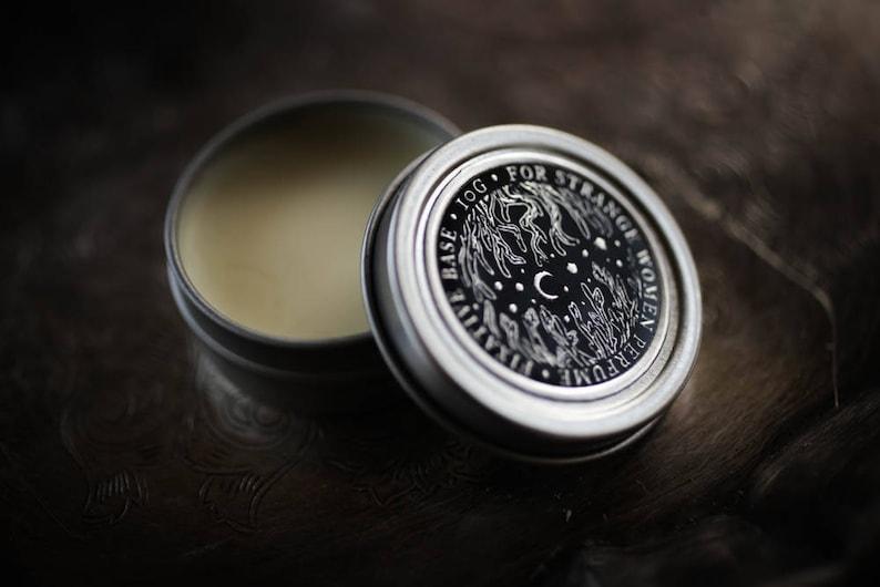 Perfume Enhancing Fixative Base™  beeswax balm salve to wear image 0