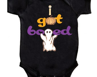 Baby Halloween Romper Black Baby Bodysuit By Mumsy Goose Newborn Romper first Halloween