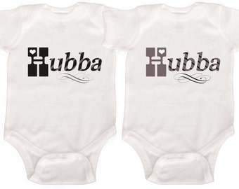 Funny Twin Boy Bodysuits by Mumsy Goose  Baby Boy Twin Creepers Retro Rompers Baby Boy One Pieces