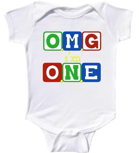 9df5ce1c699e 1st Birthday One Piece by Mumsy Goose One Birthday Shirt Boy