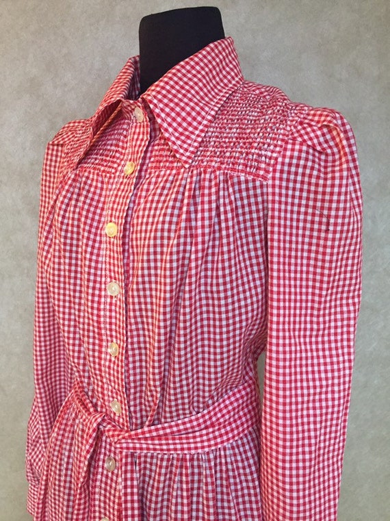 Vintage 1970s Young Innocent by Arpeja Label Red W