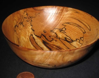 Special spalted maple bowls