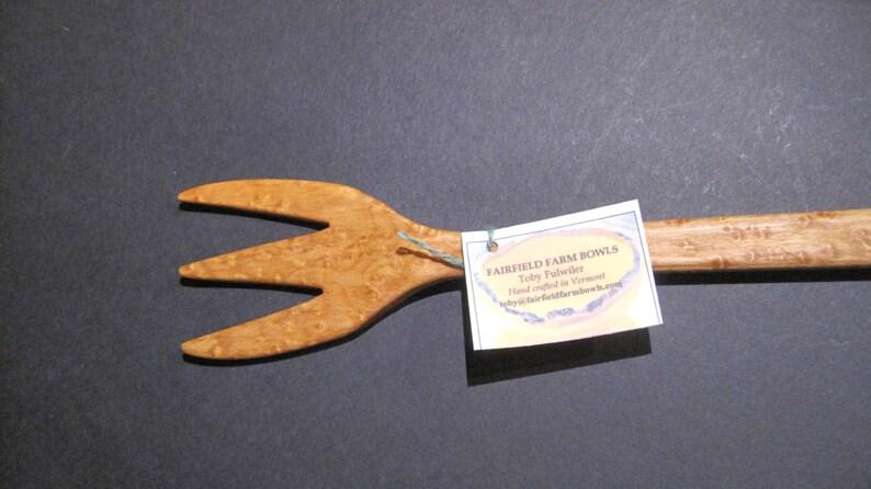 Birdseye Maple Pasta Fork