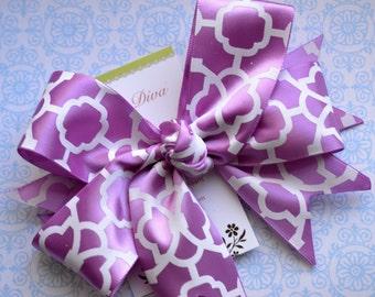 Orchid Lattice XL Diva Bow
