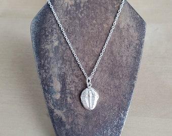 Trilobite Pendant | Paleontology jewelry | Elrathia kingii Fossil