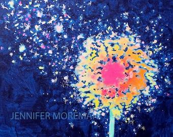 Wish Upon a Star 24x24 Fine Art Paper Print