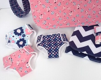 Pattern- Diaper Bag Accessories PDF and pattern pieces