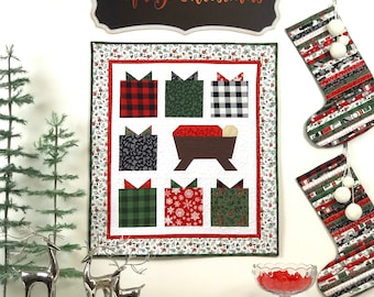 Pattern- The Best Gift mini quilt pattern