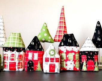 Pattern: Merry Little Christmas Village PDF pattern