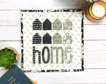 Making A Home Mini Quilt PDF Pattern