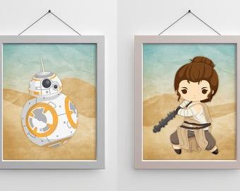 Star Wars 8x10 Prints