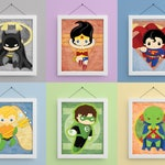 Justice League 8x10 Prints