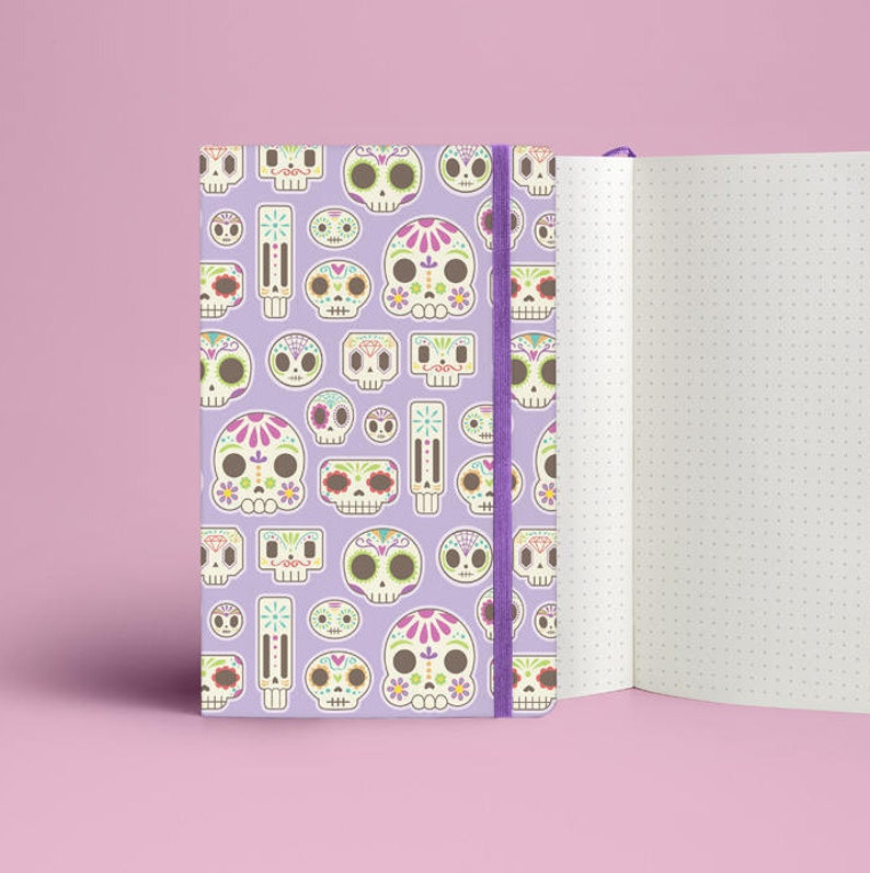 Sugar Skull Notebook image 0