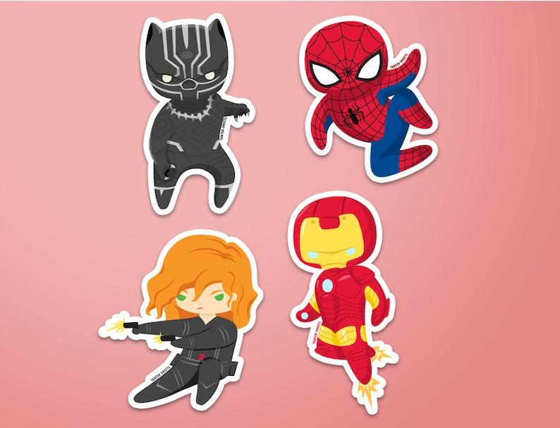 Team Iron Man Stickers image 0