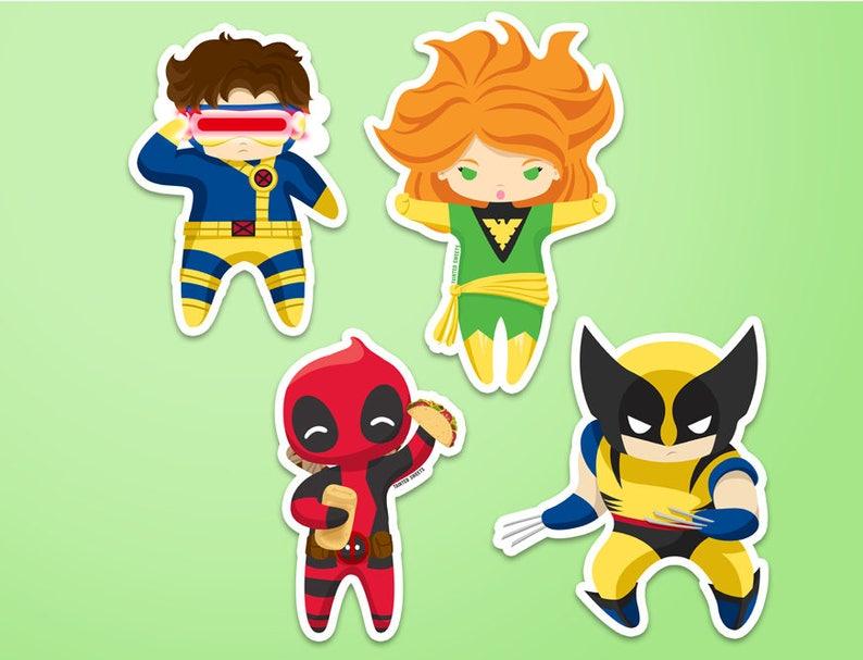 Mutant Stickers image 0